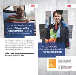 Die interne Vermarktung der neuen Employer Branding Kampagne der DB