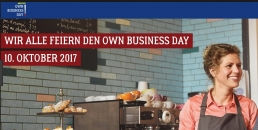 Eines der Key Visual s zum METRO Own Business Day