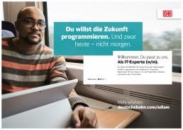 Die neue Employer Branding Kampagne der DB