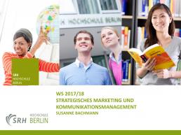 Seminare zu Marketing und PR an der SRH Hochschule in Berlin